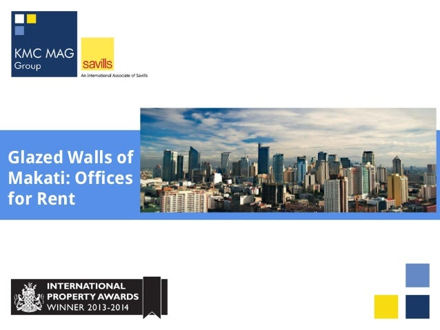 Glazed Walls of Makati: Offices for Rent