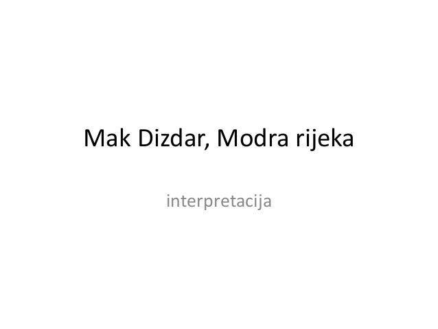 MAK DIZDAR MODRA RIJEKA EPUB DOWNLOAD