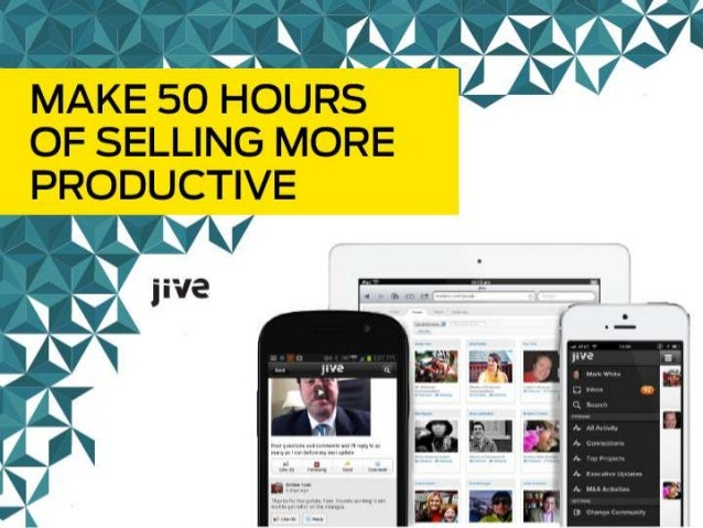 50 HOURS The Aligned Way to Improve Sales Productivity James Ninivaggi, Sirius Decisions Service Director, Sales Enablemen...