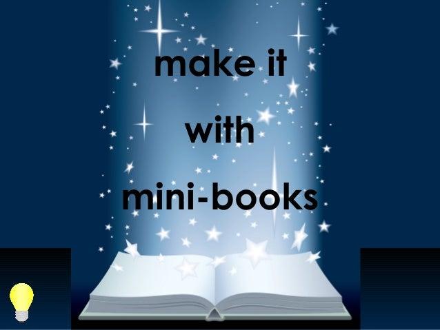 make it with mini-books