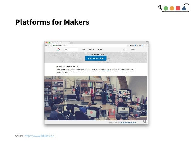 Platforms for Makers Source: https://www.fablabs.io/