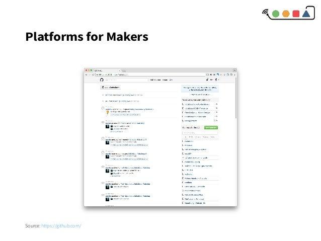 Platforms for Makers Source: https://github.com/