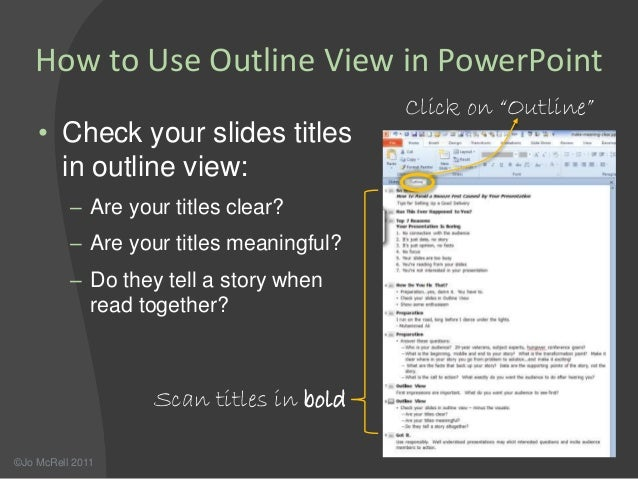 how to make good slides with powerpoint