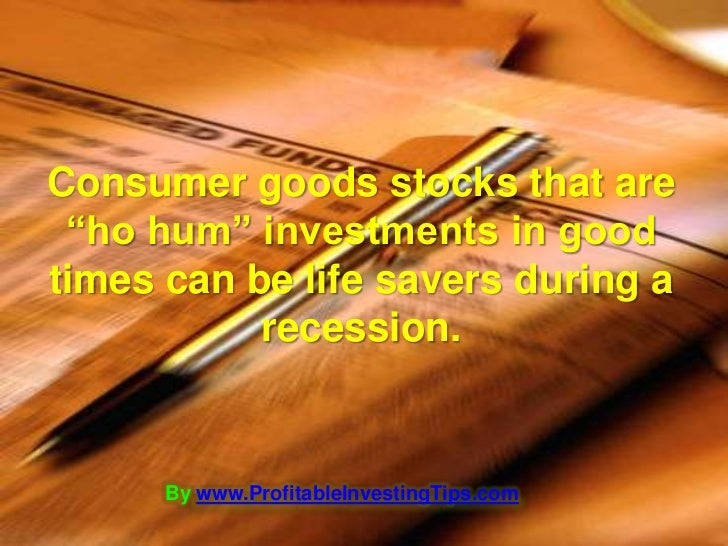 how to make money in a recession investing