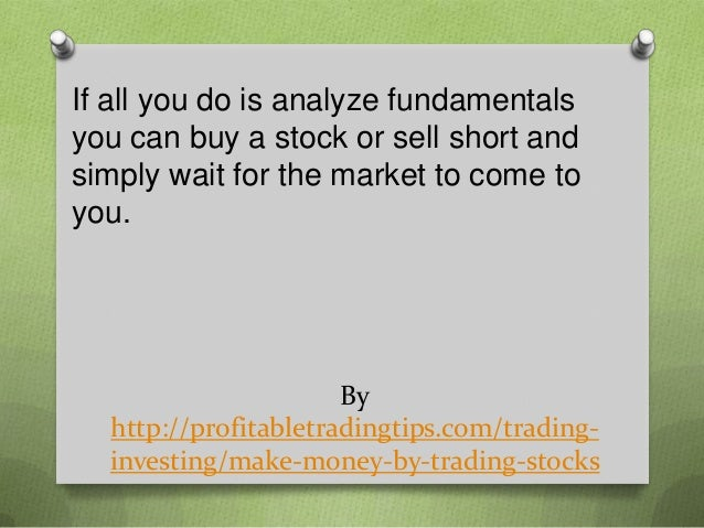 How do you make money on stock options