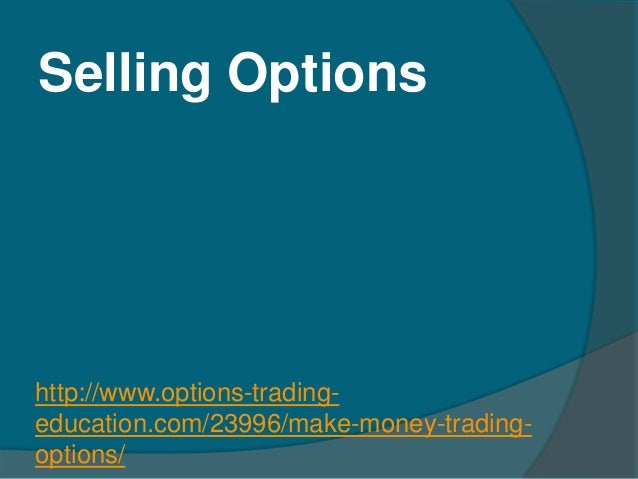Does anyone make money trading options
