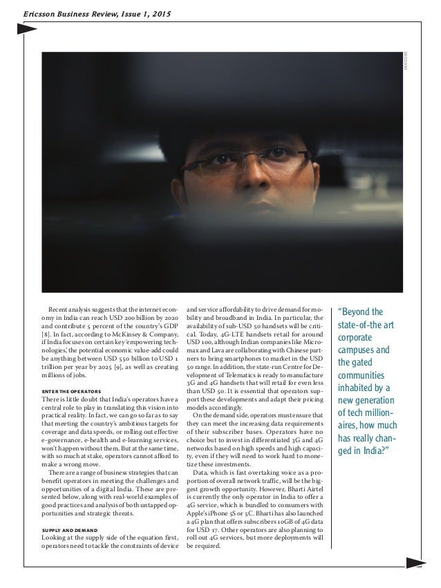 Ericsson Business Review - Issue 1, 2015