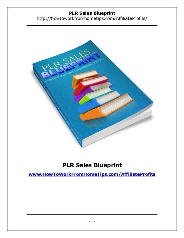 PLR Sales Blueprint  http://howtoworkfromhometips.com/AffiliateProfits/             PLR Sales Blueprintwww.HowToWorkFromHo...