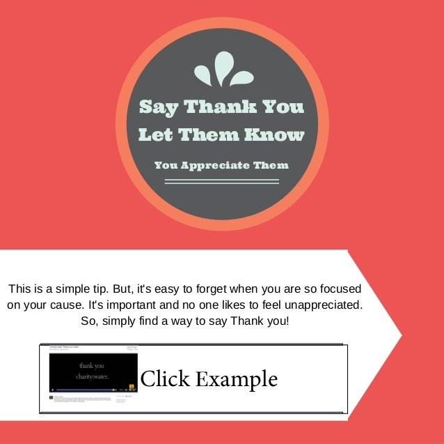 Let Them Know Say Thank You You Appreciate Them Thisisasimpletip.But,it'seasytoforgetwhenyouaresofocused on...