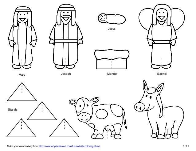 make your own nativity scene