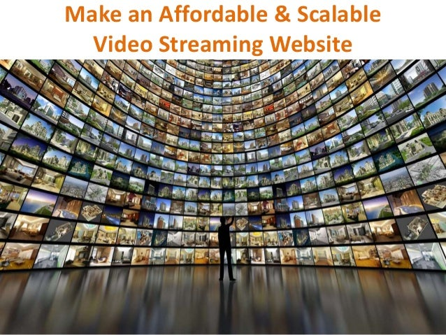 how to make live video streaming website