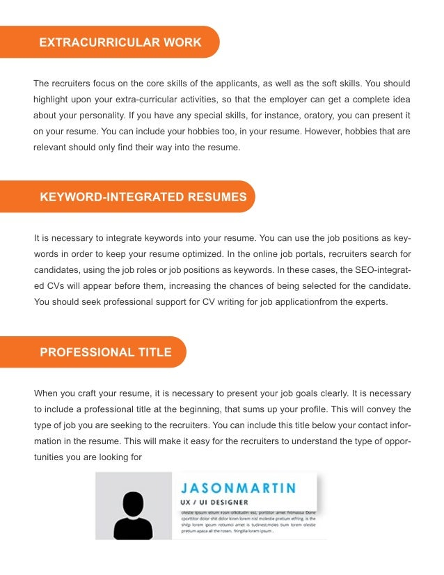 Tips To Create Resume With No Work Experience