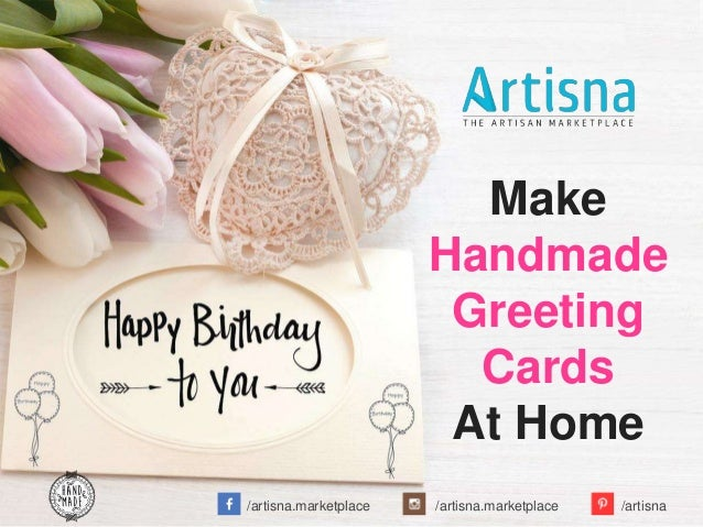 How To Make Handmade Greeting Cards At Home