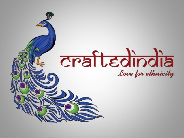 Who ARE We? • CraftedIndia is an online portal that has come up with the idea of selling Indian Handicrafts online. • With...