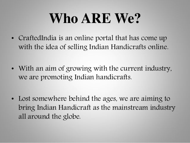 Make in india - Indian handicraft Products online Slide 2