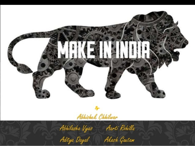 Make in india  Slide 2