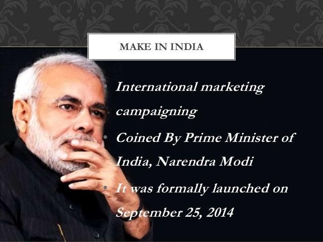 Make in india  Slide 3