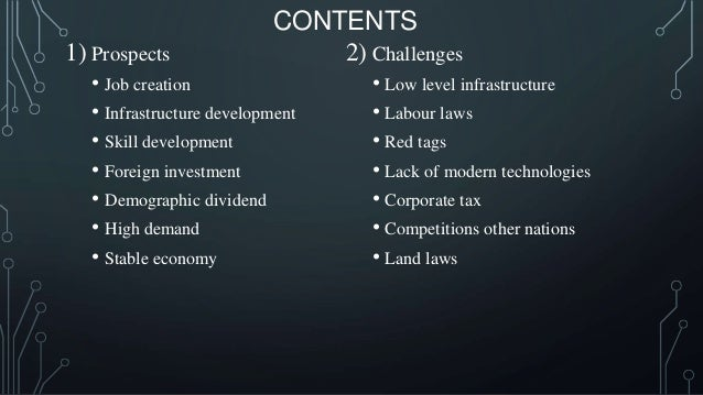 Make in india  challenges and prospects Slide 2