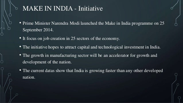 Make in india  challenges and prospects Slide 3