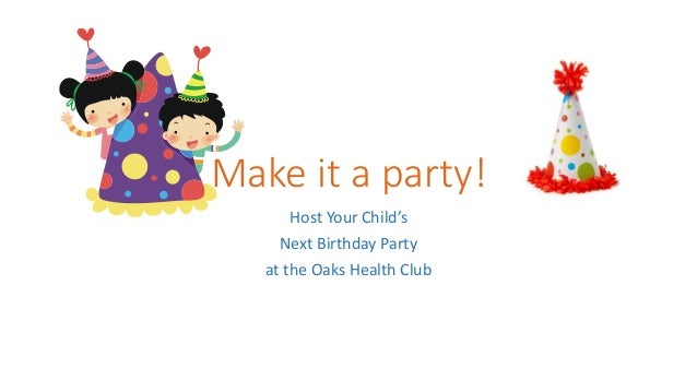 make it a party!, Powerpoint templates