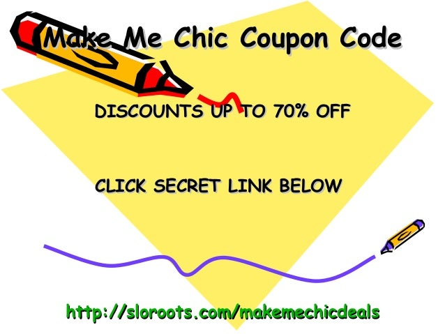 Makemechic coupon code