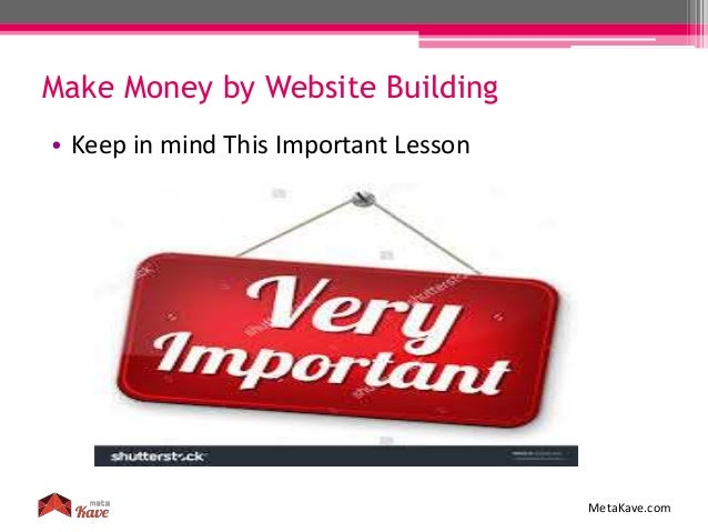 how to build websites that make money