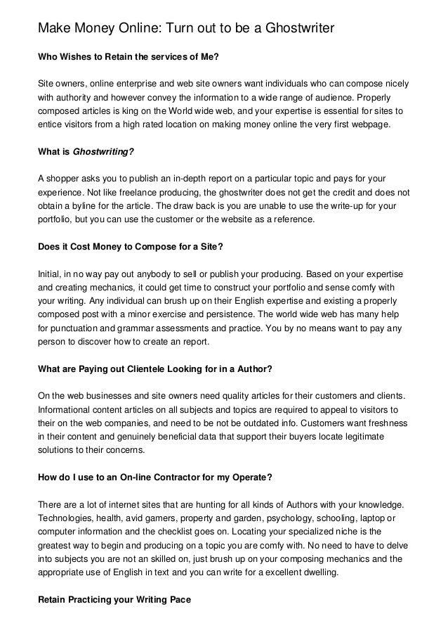 Report ghostwriters website ca esl mba article review ideas