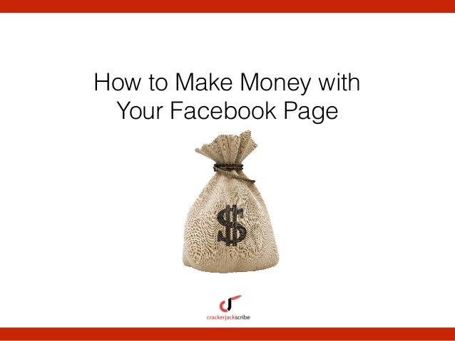 how to make money on facebook pages pdf