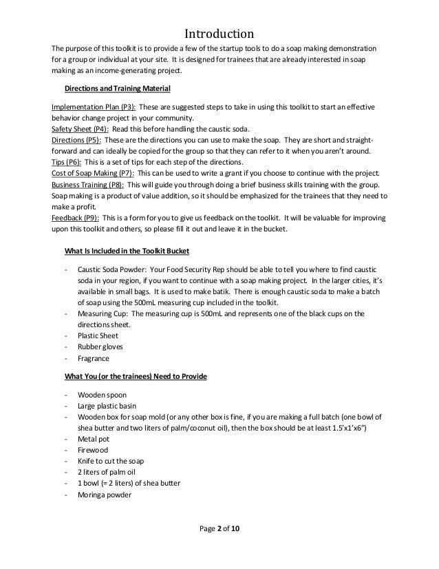 how to make moringa soap pdf