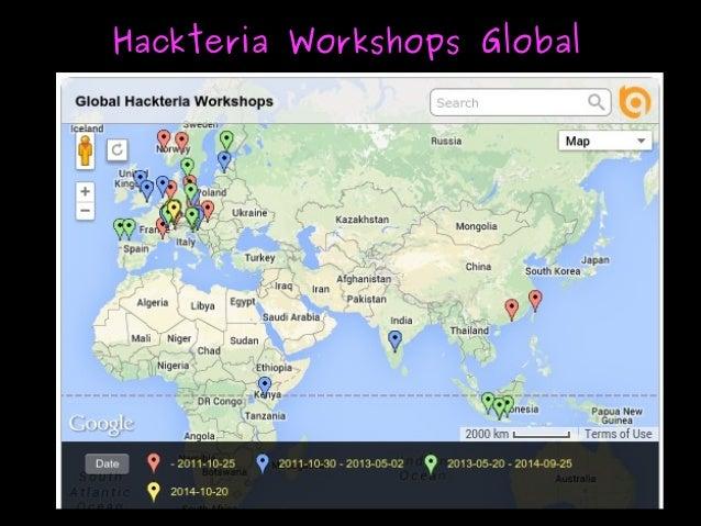 Hackteria Workshops GlobalHackteria Workshops Global