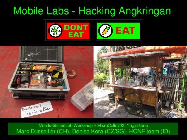MobileLabsHackingAngkringan MobileKitchenLabWorkshop//MicroCells#02,Yogyakarta MarcDusseiller(CH),Denisa...