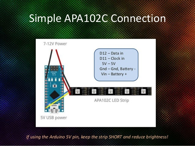 A Fast Introduction to Arduino and Addressable LED Strips
