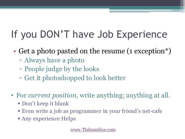 Tlabsonline.com/blog/make Resume Stand Out/; 3.