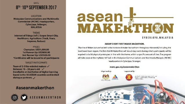 The Rise of Maker Movement in Indonesia MCMC, Malaysia, Sept 8. 2017