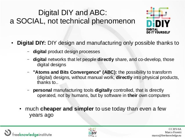 The Digital DIY phenomenon: challenge or opportunity for degrowth? Slide 2