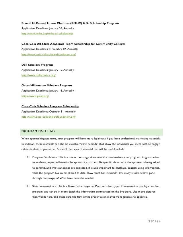 mcdonalds scholarship application 2018