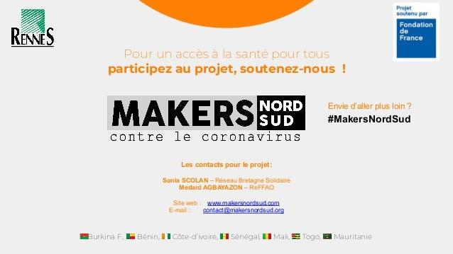 Makers Nord Sud : coopération, fablabs et santé ouverte