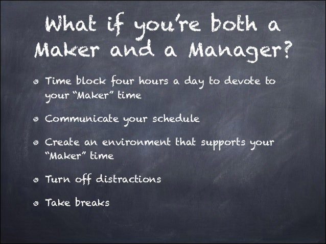 maker s schedule manager s schedule