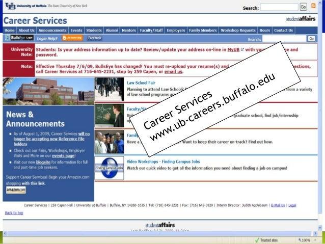 university at buffalo career services make the most of a job fair fal