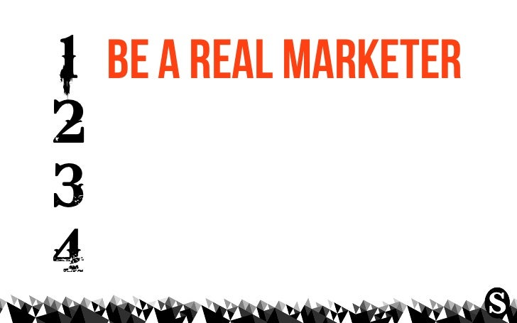 what do marketers knowabout making things...?