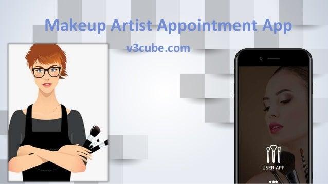 Makeup Artist Appointment App v3cube.com
