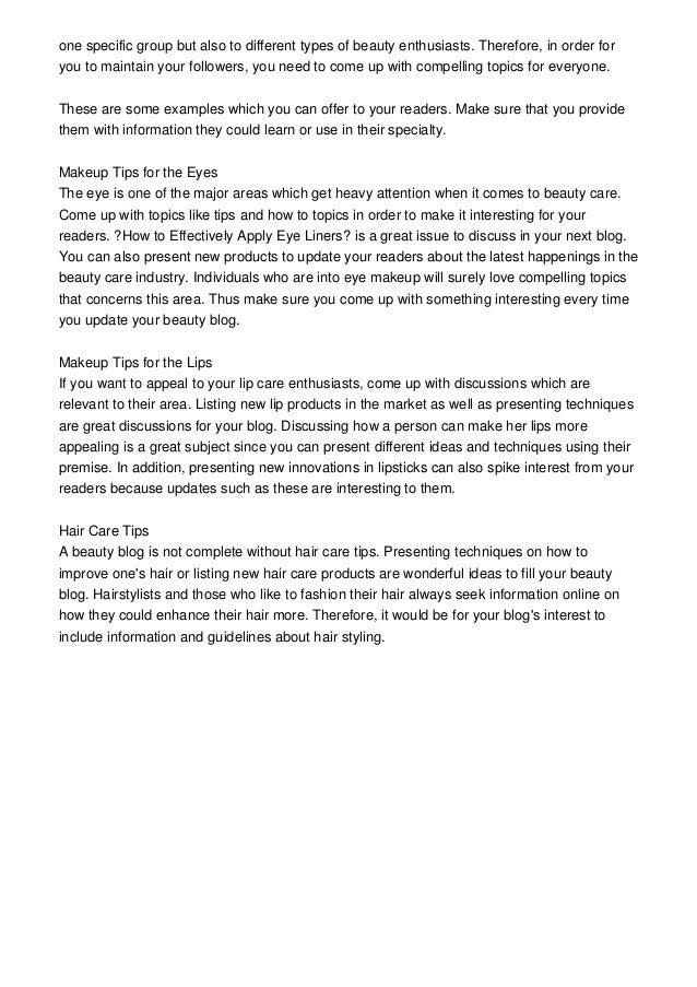 Makeup Blog: Sharing Beauty Tips Online-- Here\'s How to Start a Makeu…