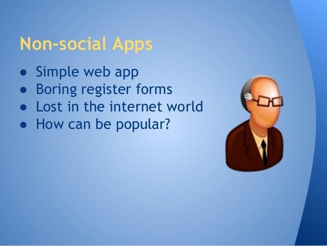 Make Your Application Social Slide 2