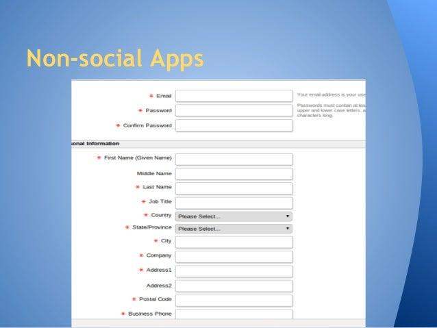 Make Your Application Social Slide 3