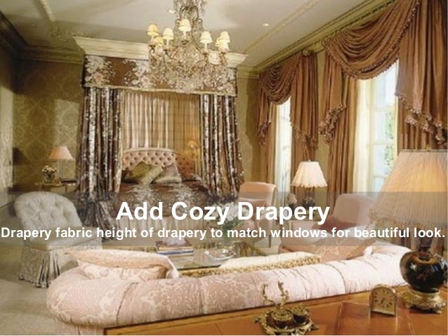 . Make your bedroom classy with luxuries decor