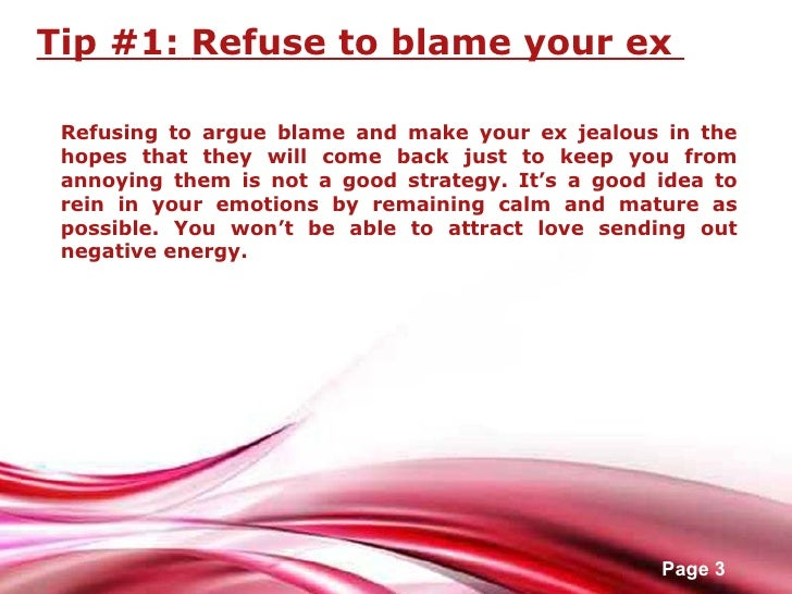 Common people Want Ex Back Make You Ur How To someone bewildered, restore