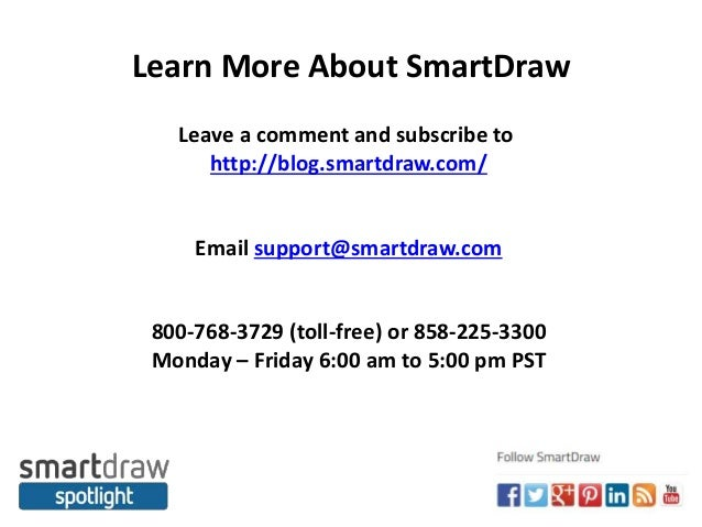 10 learn more about smartdraw - Smartdraw Support