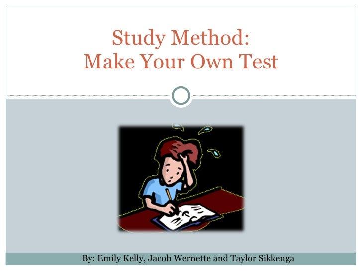 Method Küchenreiniger Test ~ study method make your own test