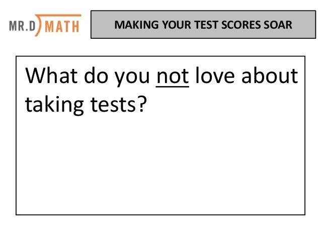 Make Your Test Scores Soar Slide 3