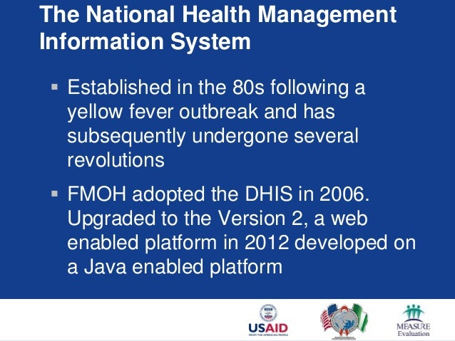 Improving the National Health Information System through ...
